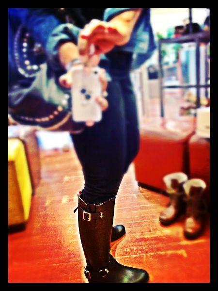 Steve Madden Tsunami Rubber Rain Boots... Swaggalicious!