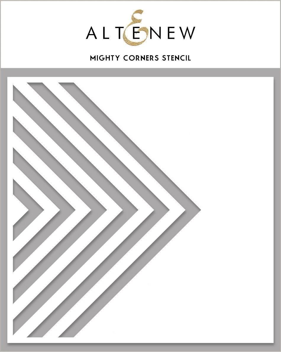 Mighty Corners Stencil In 2021 Stencils Altenew Paper Craft Projects
