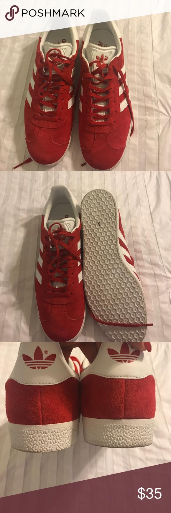 Red adidas gazzella adidas gazzella, adidas e adidas rosso