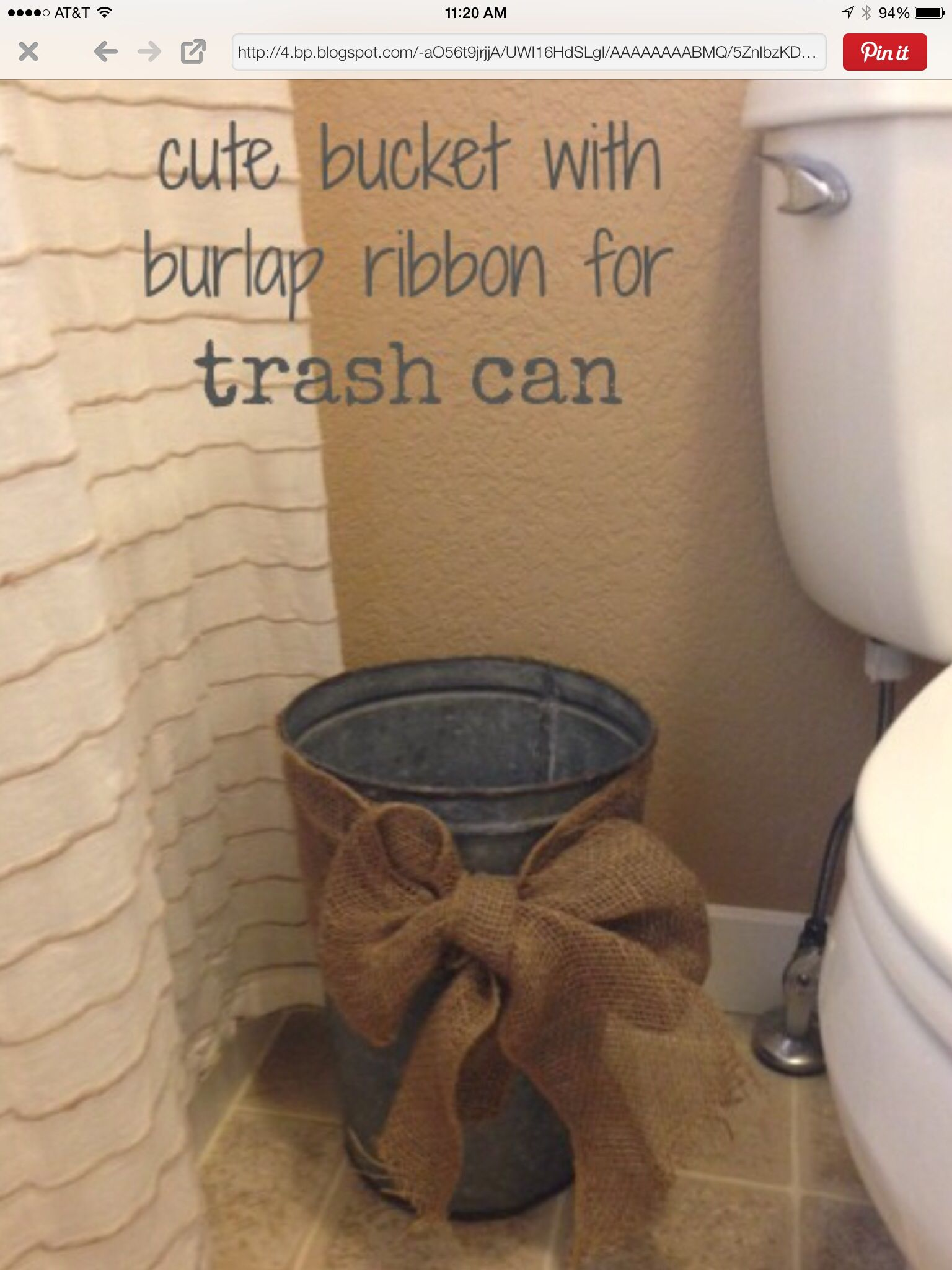 Burlap bathroom ideas - All Things Burlap Guest Bathroomsbathroom Ideasrustic