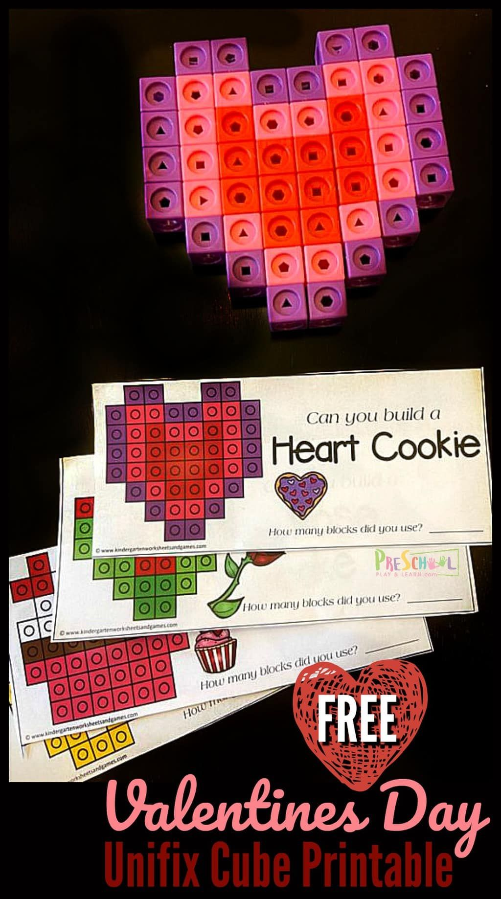 Valentines Day Math With Snap Cubes In