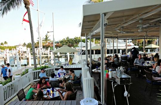 Captiva Island Restaurants Harbourside Bar And Grill At South Seas Resort