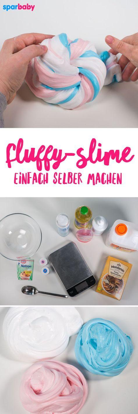 neues video diy einhorn slime fluffy slime selber. Black Bedroom Furniture Sets. Home Design Ideas