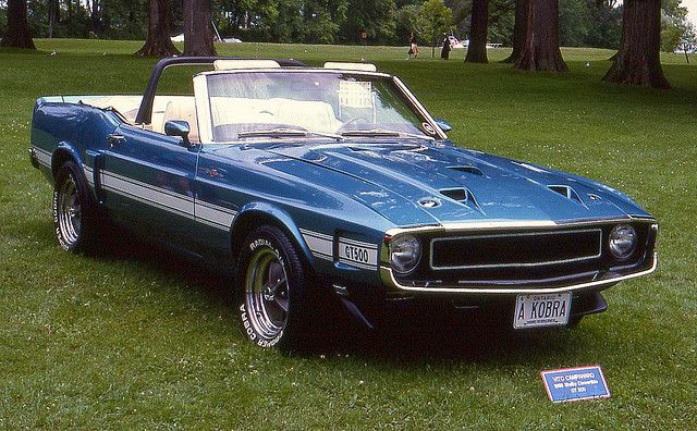 1969 Shelby Mustang Gt500 Convertible American Classic Cars