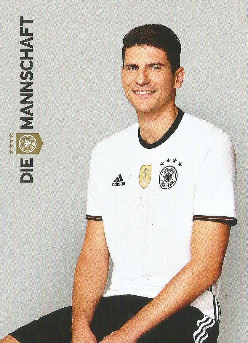 Mario Gomez Die Mannschaft Eurocup 2016 Dfb Nationalmannschaft Deutsche Fussball Bund Deutsche Nationalmannschaft