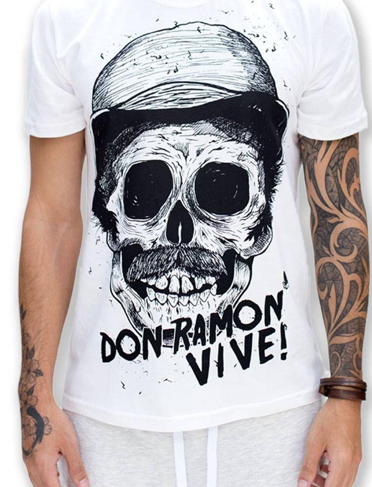 Camisa FODA em homenagem a um dos maiores personagens se todos os tempos.  Don Ramon 312a5e58429