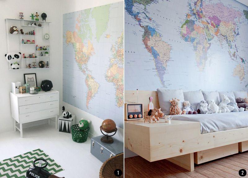 Decorar la pared de una habitaci n infantil actualiza la habitaci n de los ni os con estilo e - Decorar habitacion infantil ...