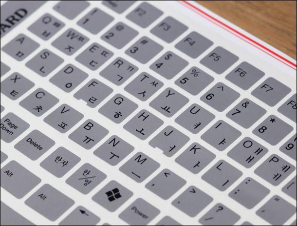 2pc/lot Korea language Laptop Keyboard Korean keyboard sticker ...
