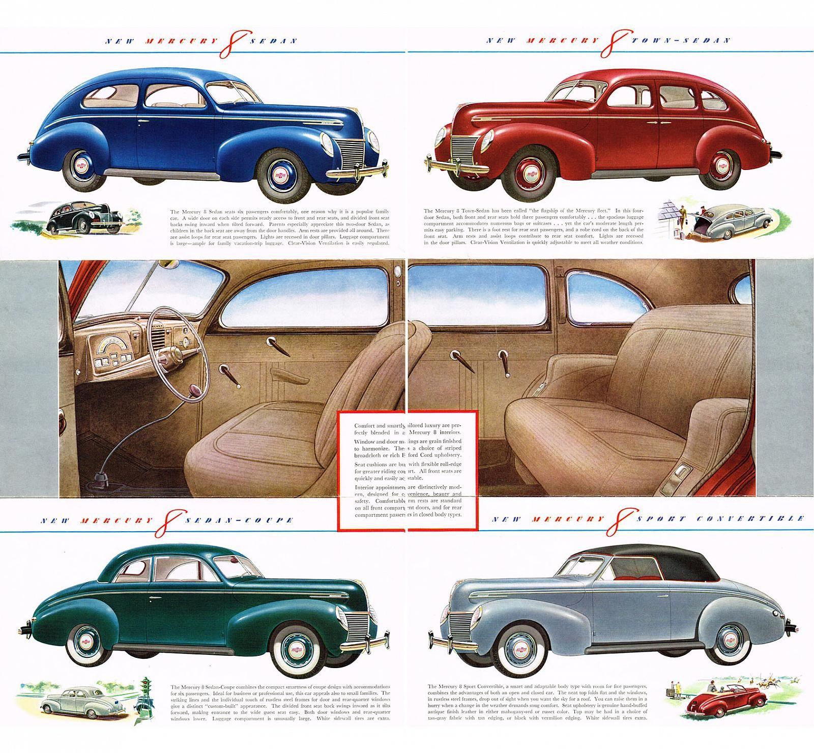 39 Mercury interior. | Upholstery | Pinterest | Truck interior ...