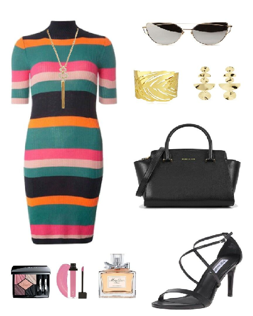 colorful dress outfit #fashionista #fashion #style #outfitideas