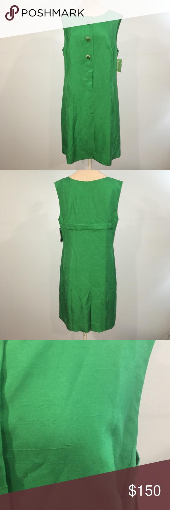 Lilly Pulitzer Green Kelan Dress Lilly Pulitzer Lifeguard Green Kelan Dress Matte Dupioni Beautiful 100 Silk Shift D Dresses Clothes Design Silk Shift Dress [ 1740 x 580 Pixel ]