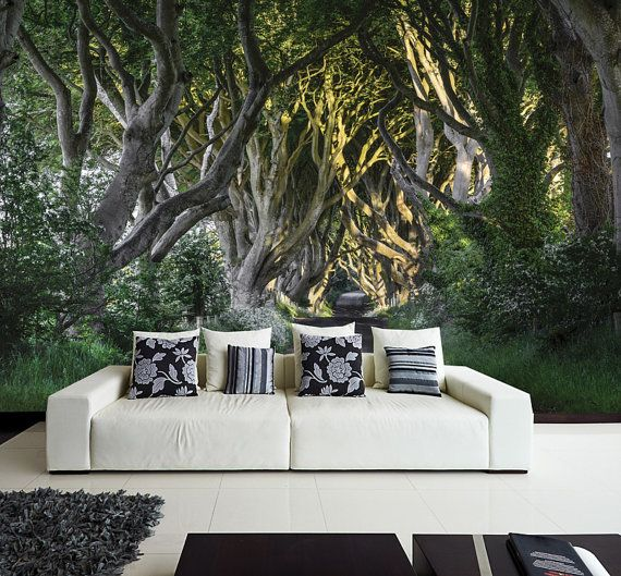 Photo WALL MURAL, Wall Decal, Self Adhesive Vinyl Wallpaper Mystery Forest  12u0027 Part 26