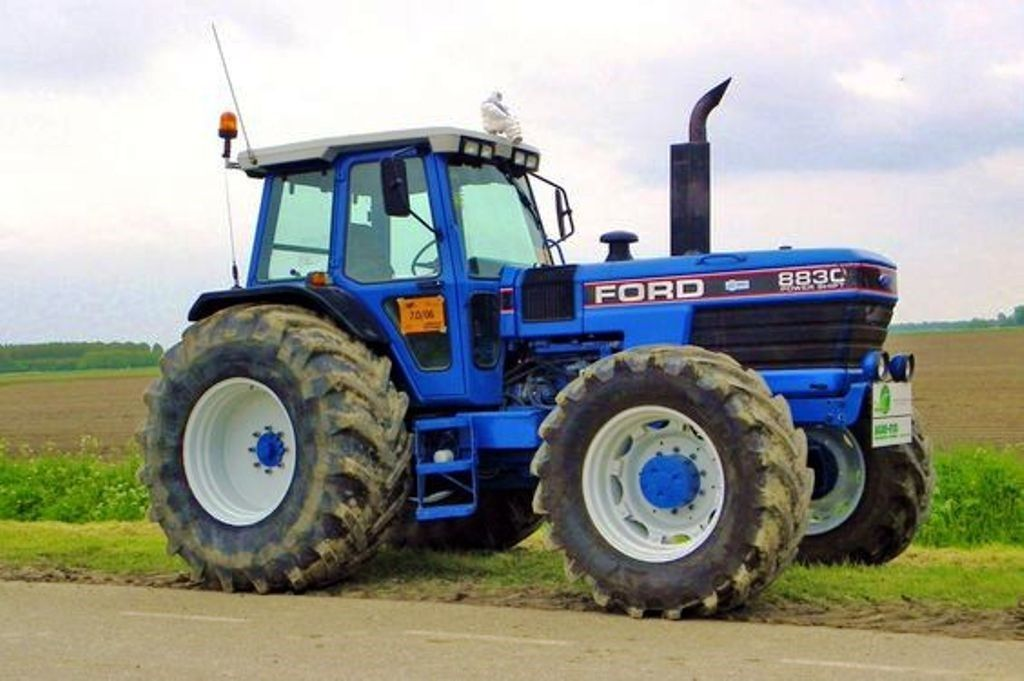 Ford 8830 Fwd Tractor Tractor Ford Trekker