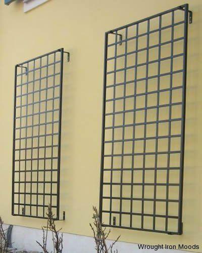 Wrought Iron Trellis Metal Garden Trellis, Wrought Iron Trellis, Wall  Trellis, Garden Structures