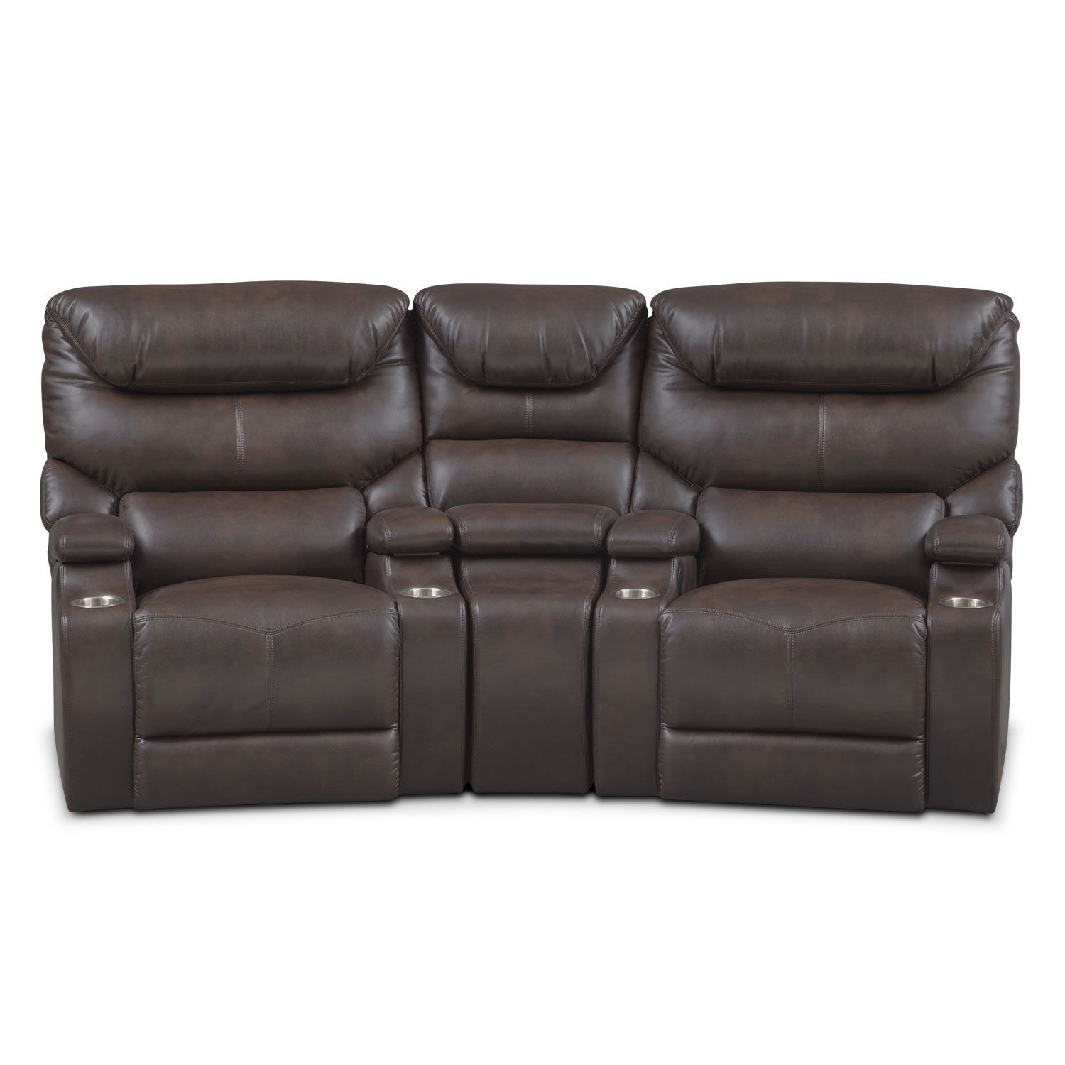 Saturn 3-Piece Power Home Theater Sectional In 2019