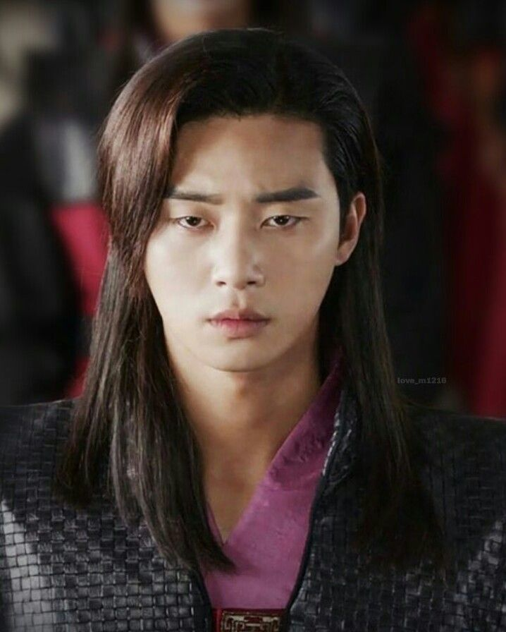 Park Seo Joon Hwarang Kdrama He Is So Handsome With Long Hair