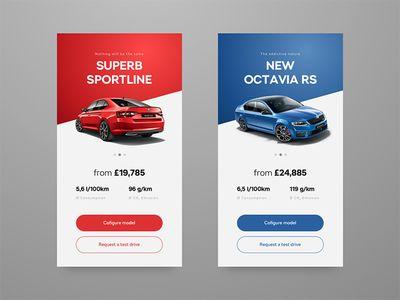 Hero Banner Mobile First Concept Header Design App Design Mobile Design