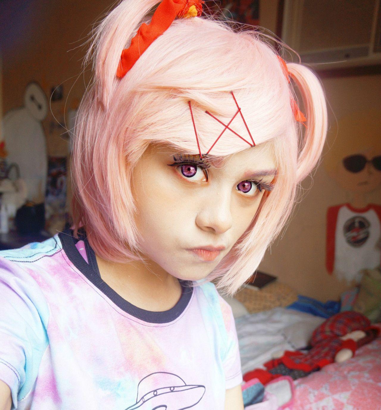 Cosplay Doki Doki Literature Club Natsuki Anime Game Horror Team