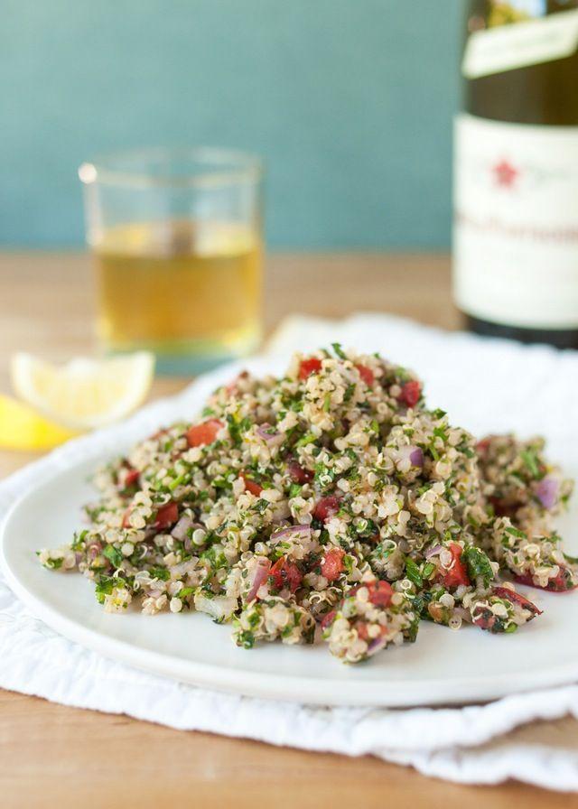 Quinoa Tabbouleh Salad - Recipe | The Kitchn
