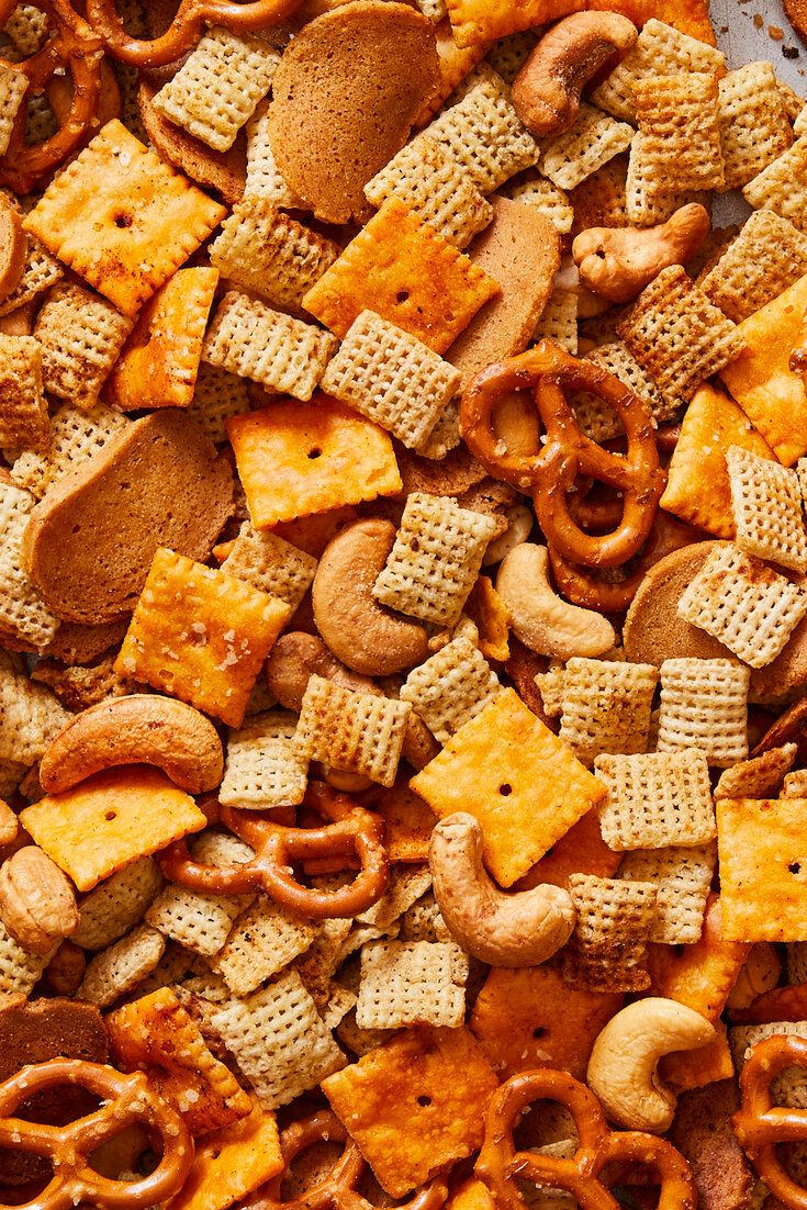 Spicy Party Mix Recipe