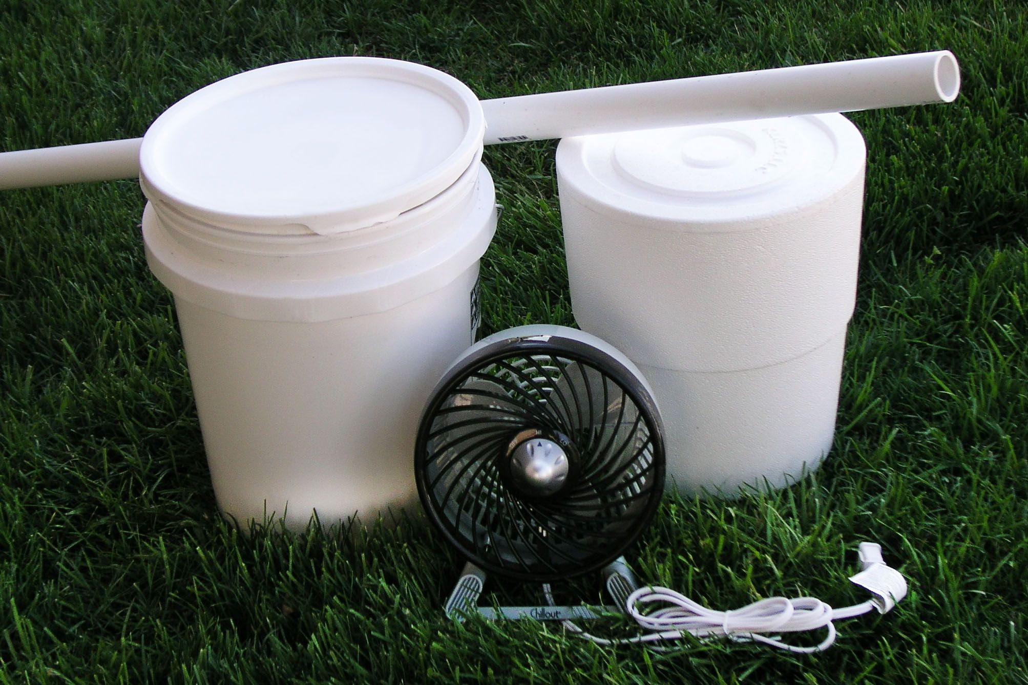DIY Portable Bucket Air Conditioner Bucket air