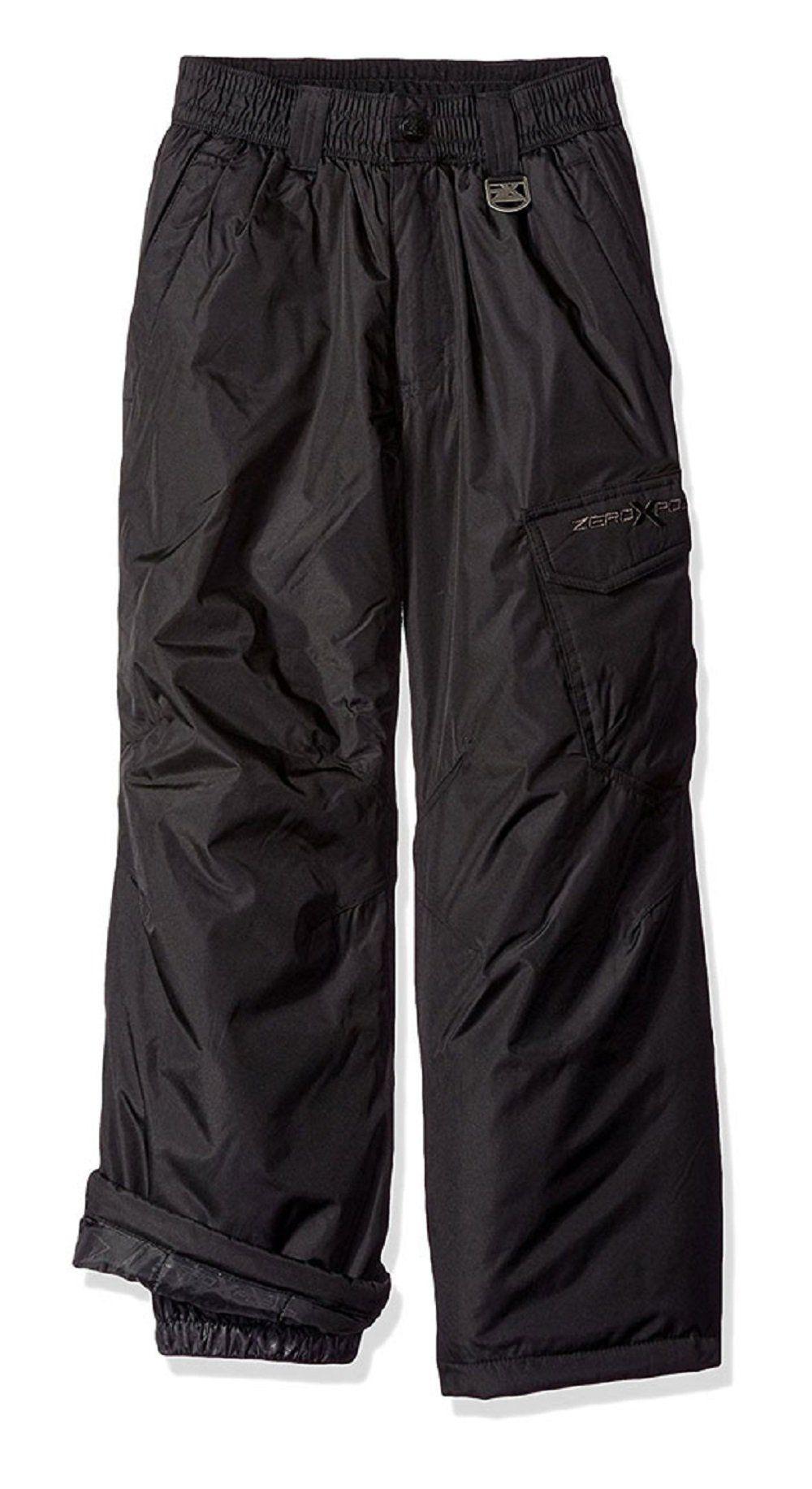 ZeroXposur Big Boys Magneto Cargo Pocket Snow Pants