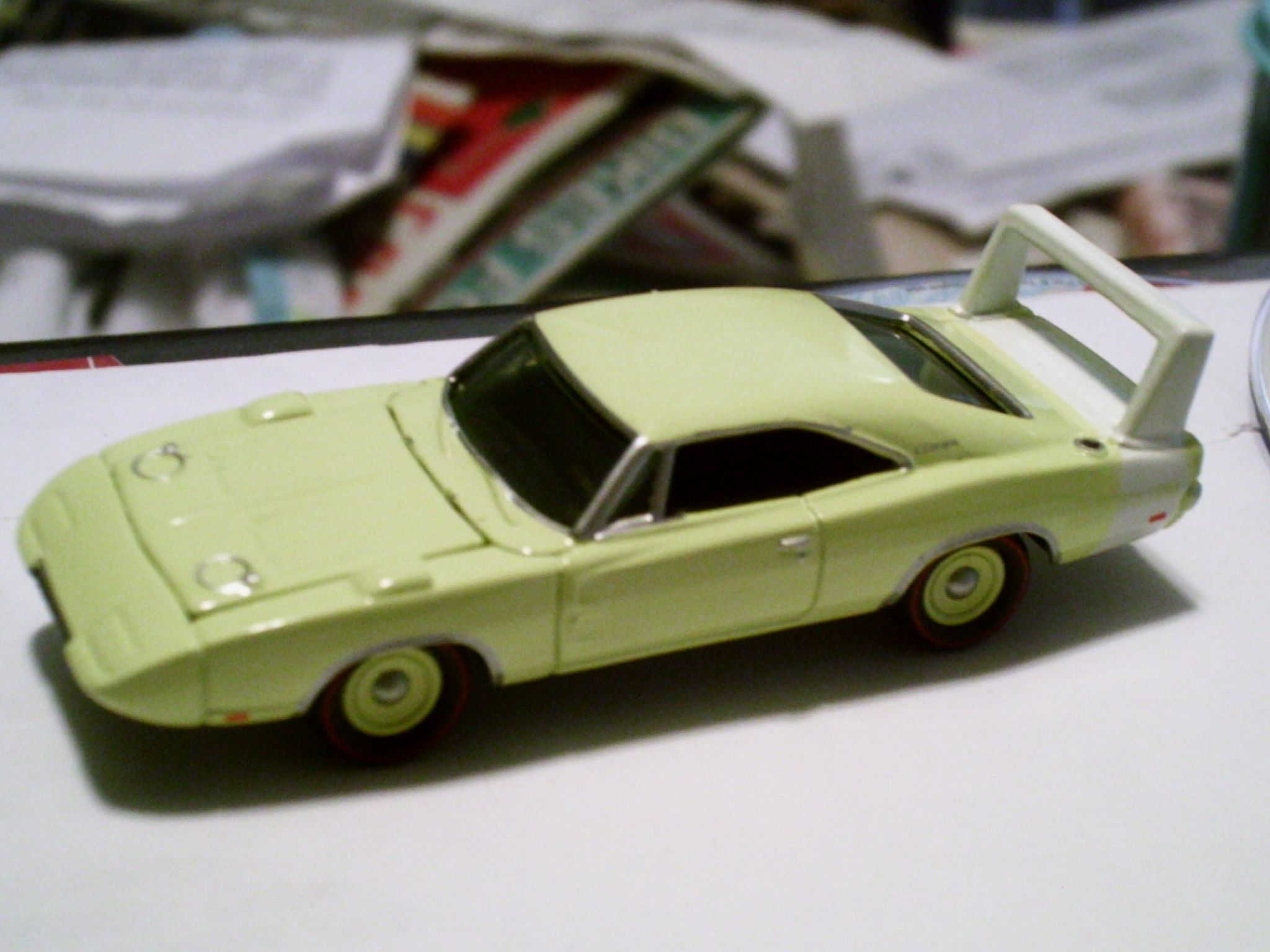 1969 Dodge Charger Daytona (the first car to do 200mph at NASCAR ...