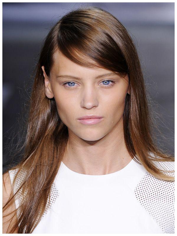 Brown hair style 2014 + DKNY