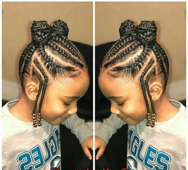 Top 24 Bast African Braids For Little Black Girls Trends 2018