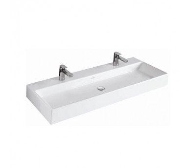 Superior Villeroy U0026 Boch 5133CG01CB Memento Double Wash Basin