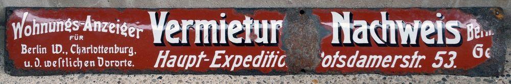 German road building sign berlin rooms flats to let rent