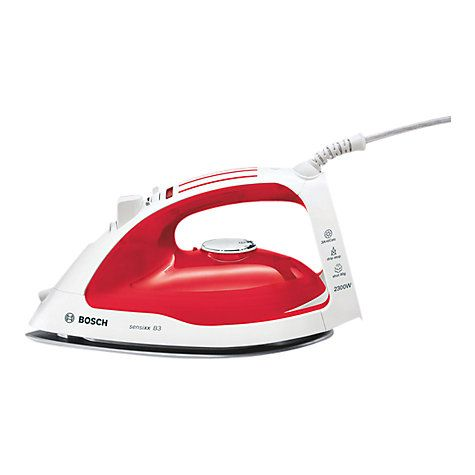bosch tda4626gb multi directional steam iron red steam iron. Black Bedroom Furniture Sets. Home Design Ideas