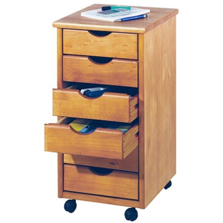 alt chest cart drawer asp office six storage in black drawers