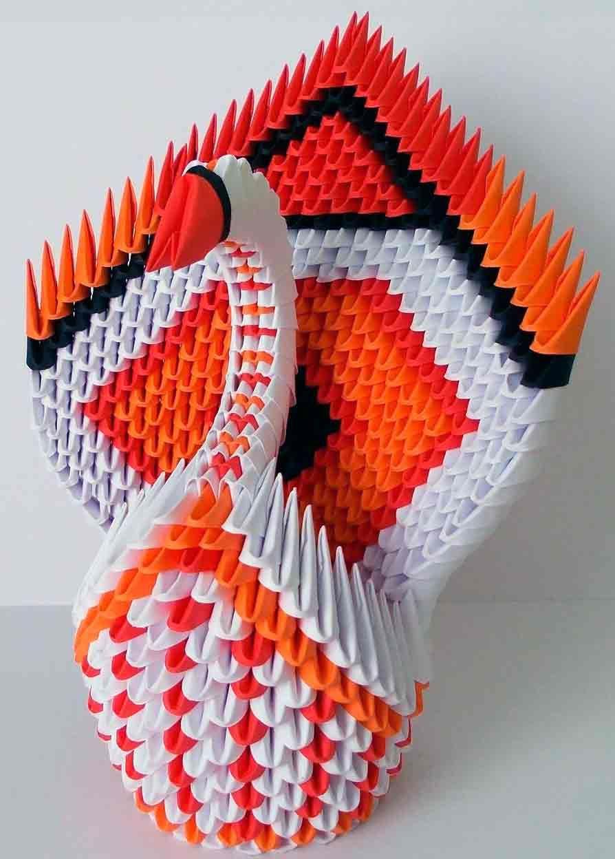 origami 3D | ORIGAMI 3D | Pinterest | D, Manualidades and Diy origami