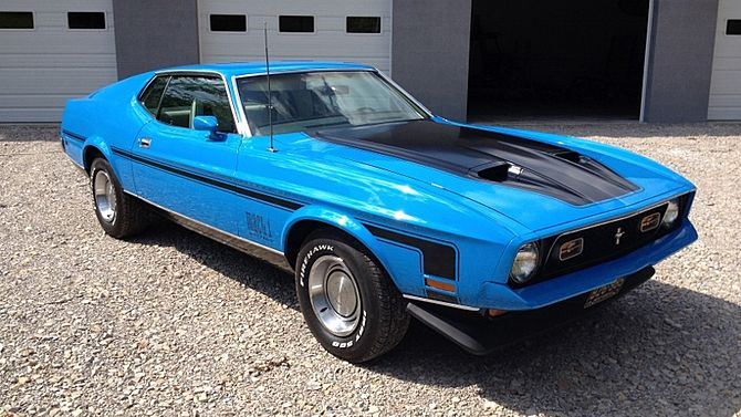 1971 Ford Mustang Mach 1 Fastback 351 Ci Automatic Mecum Auctions 1971 Ford Mustang Ford Mustang Mustang Mach 1