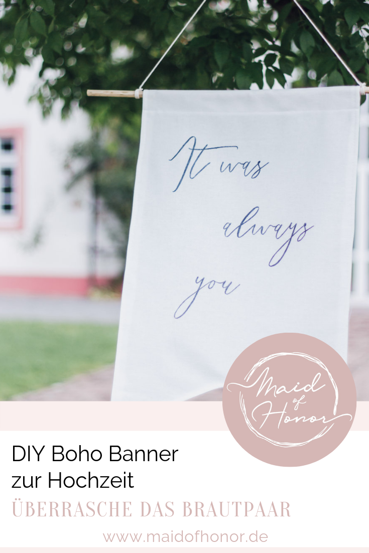 Uberraschung Zur Hochzeit Boho Banner Mit Personlichem Text Uberraschung Hochzeit Hochzeitsbanner Polterabend Einladung