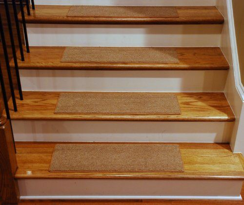 Dean Carpet Stair Treads 23 X 8   Gold   Set Of 13 By Dean Flooring