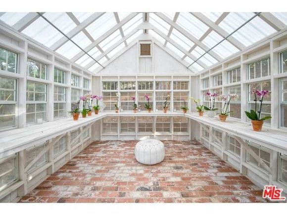 Malibu, CA - Former home of Sally Fields is on the market for $7.9 million. Features include a gorgeous greenhouse, tennis court, lavender garden and a yard ideal for kids.   http://www.estately.com/listings/info/3655-mcanany-way--2