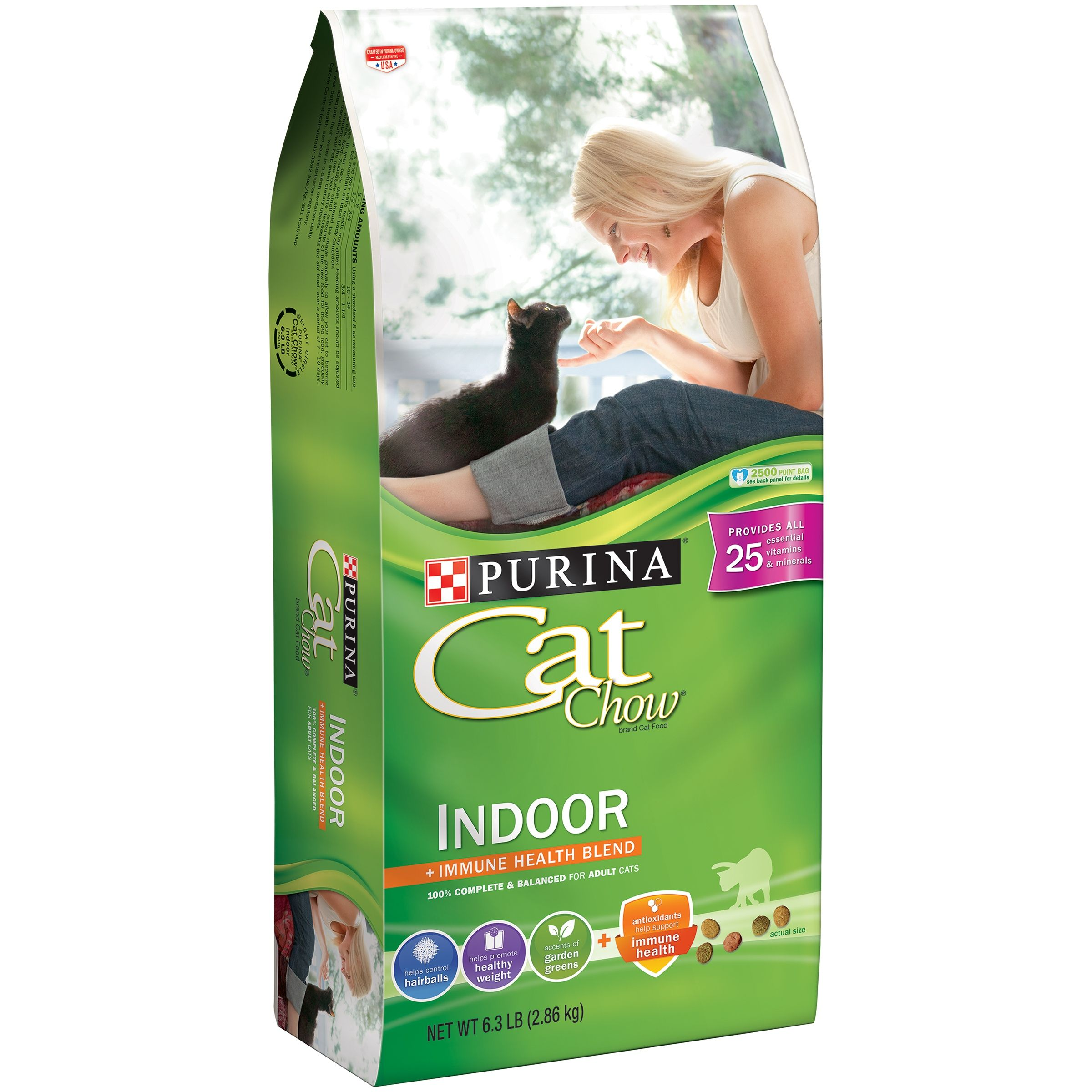 Purina Cat Chow Indoor Adult Dry Cat Food 22 Lb Ad Chow Ad