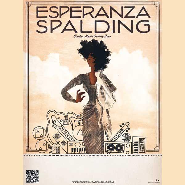 Esperanza Spalding Limited Edition Radio Music Society