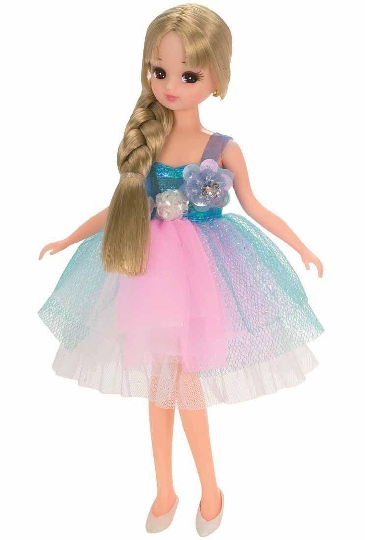 Licca Chan Doll Clothes Rainbow Party Dress Takara Tomy | eBay ...