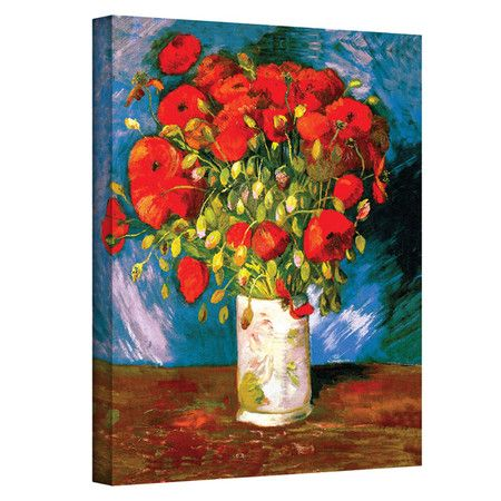 Poppies by Vincent Van Gogh
