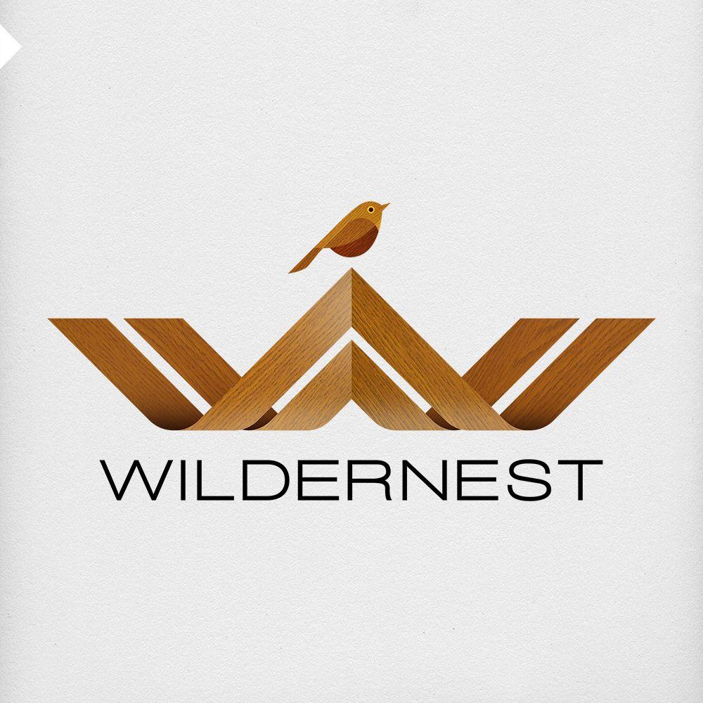 Mataconz Portfolio Wildernest Logo Wood2x