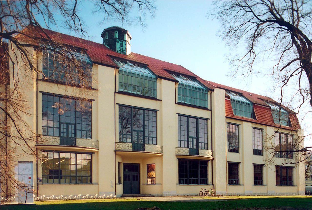 Weimar bauhaus university henry van de velde weimar for Architecture bauhaus
