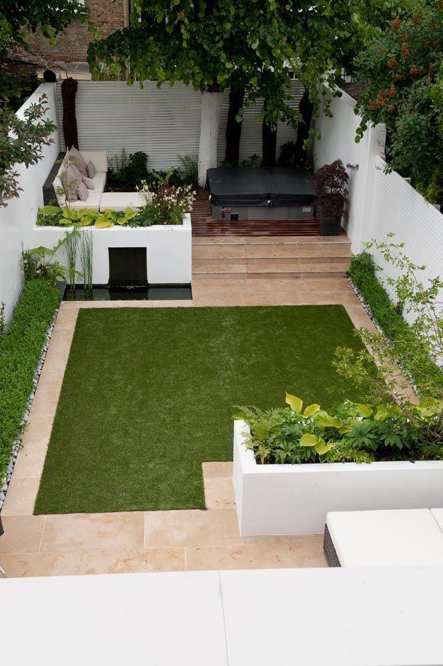 Elegant Small Gardens Layout Backyards 38 Patio Layout ...