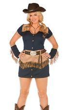 Plus Size Cowgirl Cutie Sheriff Halloween Costume  sc 1 st  Pinterest & Plus Size Cowgirl Cutie Sheriff Halloween Costume | Costumes for the ...