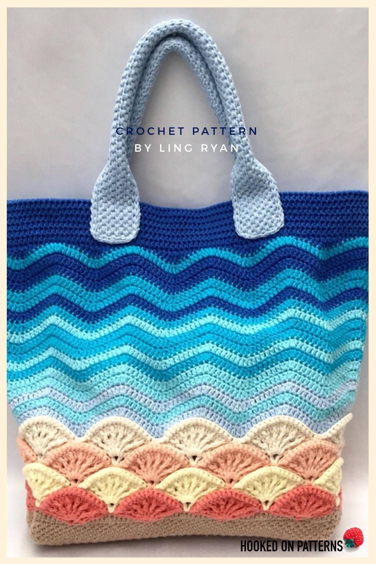 Beach Bag Crochet Pattern #bags