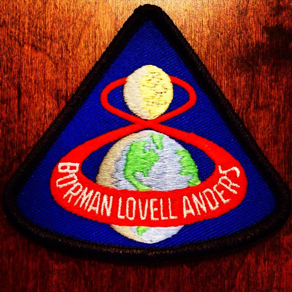 Apollo 8 patch. #apollo8 #nasa #astronaut #astronauts