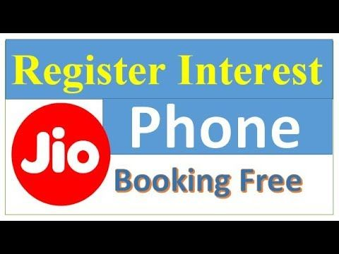JIO Free Phone Online? – Pre Booking/ Registration JIO