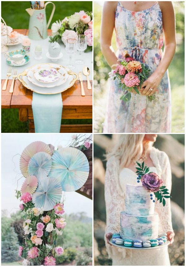 Most Popular Watercolor Wedding Ideas Of Year 2016 Wedding Style